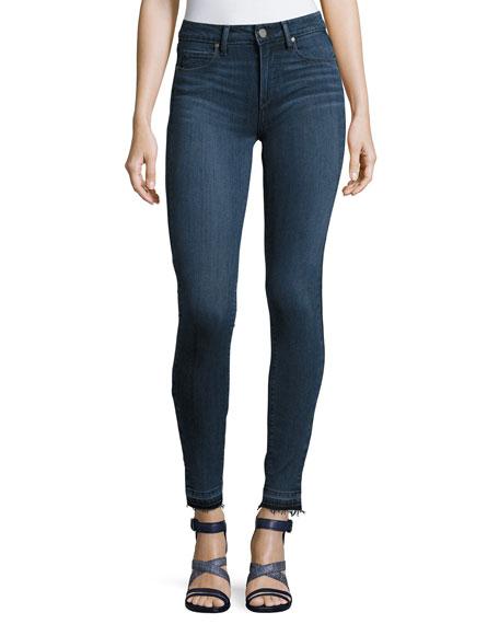 Paige Denim Verdugo Undone Hem Ultra Skinny Jeans,