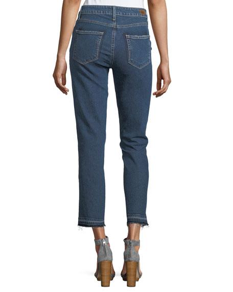 Taylor High-Rise Straight-Leg Denim Jeans