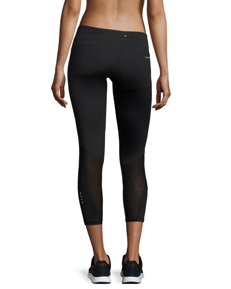 Lexington Cropped 7/8 Leggings, Black
