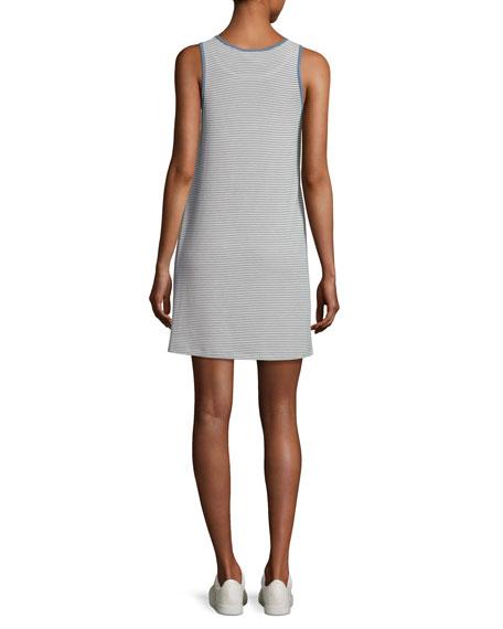 Mia Striped Jersey Ringer Dress, Multi