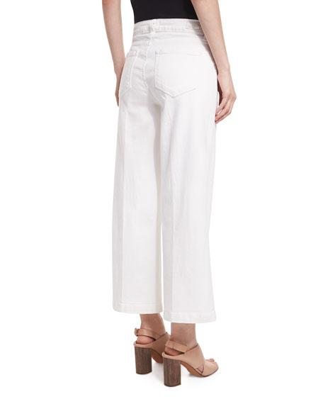 Lori Ankle Jeans W/ Faux Pockets