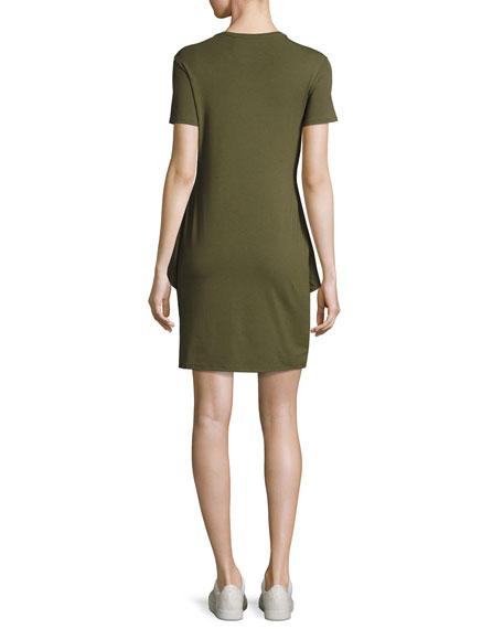 Dakui Knotted T-Shirt Dress