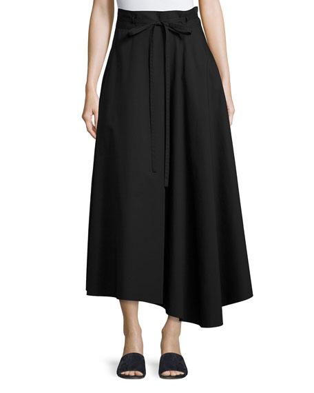 Jaberdina Light Poplin Skirt, Black