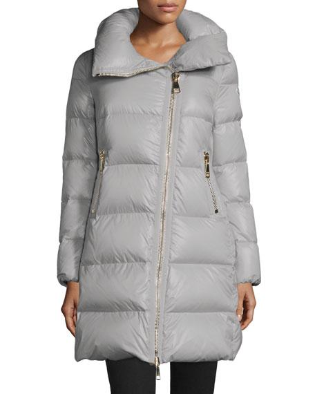Joinville Long Asymmetric Puffer Jacket
