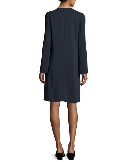 V-Neck Tunic Dress, Coastal