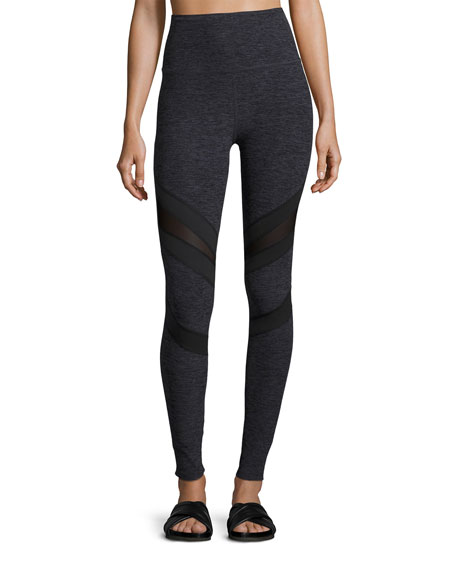 Beyond Yoga Slant Get Enough High-Waist Leggings, Black
