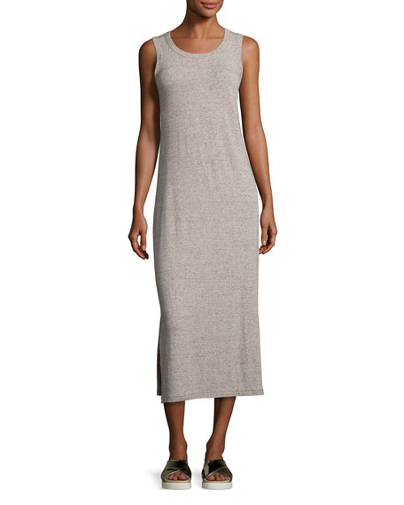 Current Elliott The Perfect Muscle Tee Maxi Dress Gray