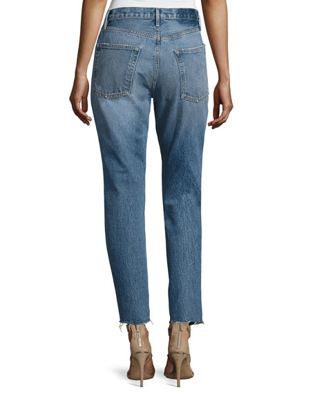 Rigid Re-Release Le Original Skinny Jeans, Blue