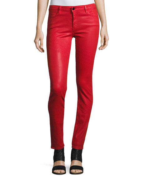 Brockenbow Emma Mid-Rise Skinny Jeans, Fontana Lucia Wax