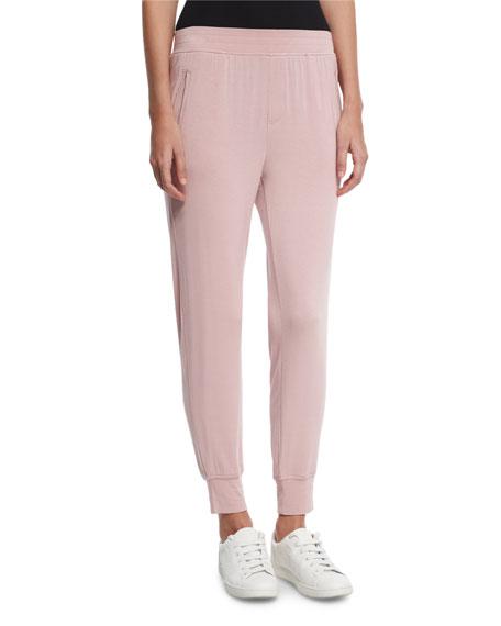 Jersey Jogger Sweatpants, Pink