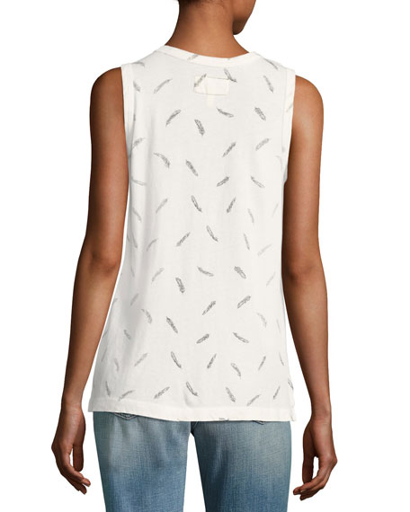 The Muscle Cotton Tee, White