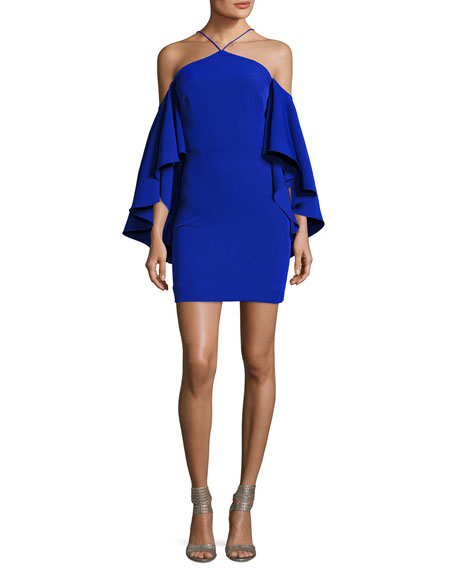 Milly Chelsea Cady Cocktail Dress, Cobalt