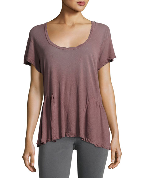 Current/Elliott The Girlie Short-Sleeve Tee