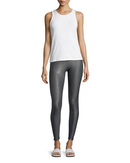 High-Rise Performance Leggings, Gray