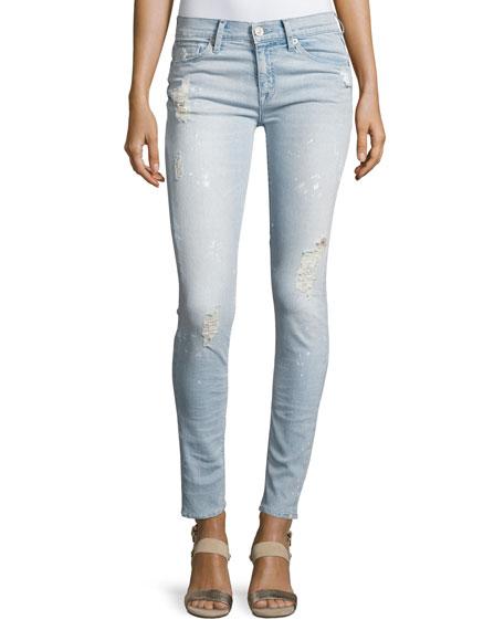 Hudson Nico Mid-Rise Super Skinny Jeans, Indigo
