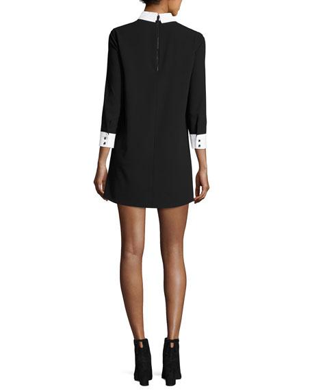 Prudence Shift Dress W/ French Cuffs