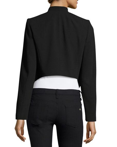 Roxanne Collarless Cropped Jacket