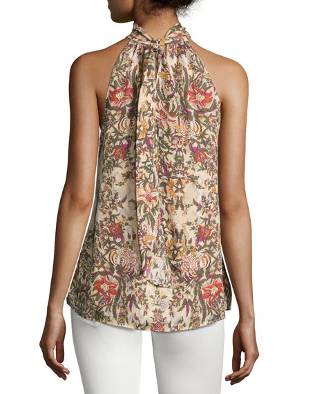 The Morrison Floral Tank Top, Multi Pattern