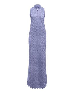 Tricot Tearaway Dress, Lavender