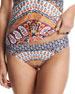 Super Fly Paisley Charmer Swim Bikini Bottom, Multi