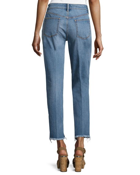 Serena Slouchy Straight-Leg Jeans