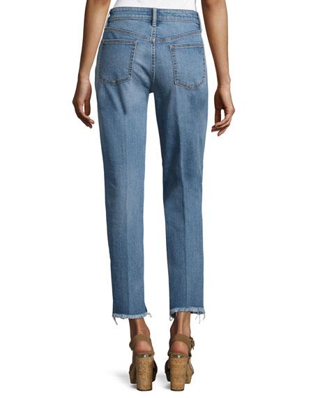 Serena Slouchy Straight-Leg Jeans