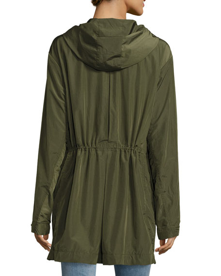 Horatia Hooded Utility Coat