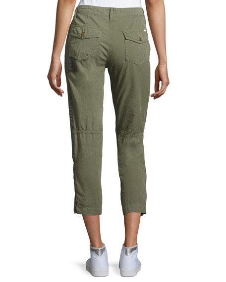 Army Racketeer Jogger Pants, Green