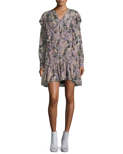 Jedy Floral-Printed Cotton Dress