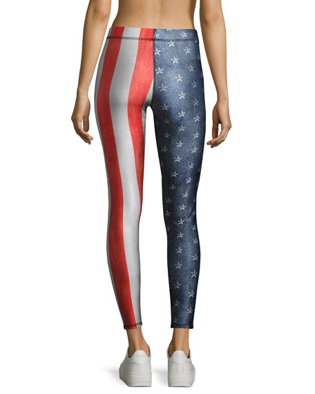 Salute Performance Leggings, Multi