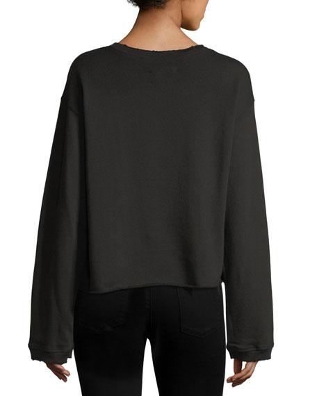 Maurice Long-Sleeve Pullover Sweatshirt