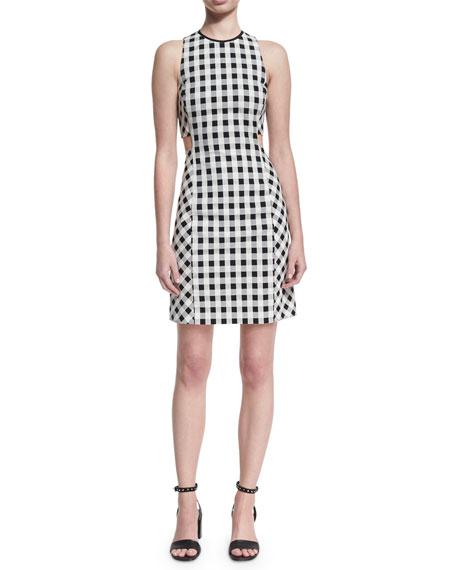 Tahoe Sleeveless Checkered-Print Dress