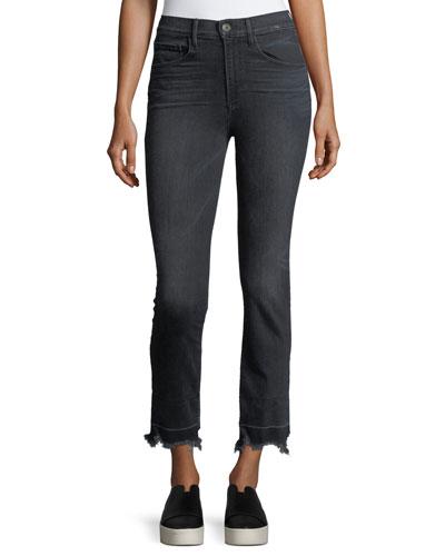 Shelter Straight-Leg Crop Jeans