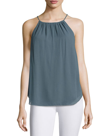 Haute Hippie The Dreamer Chiffon Cami Top, Gray