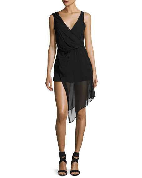 The Slayer Silk Romper, Black