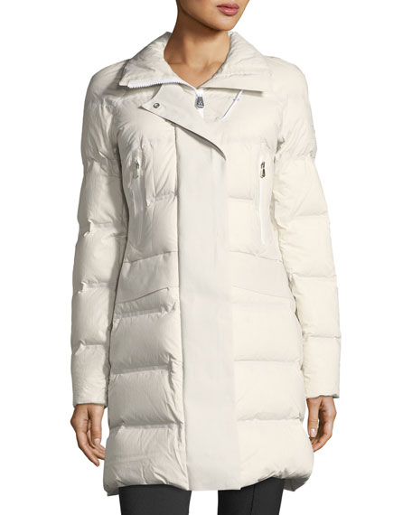 Giffard Long Quilted Puffer Coat