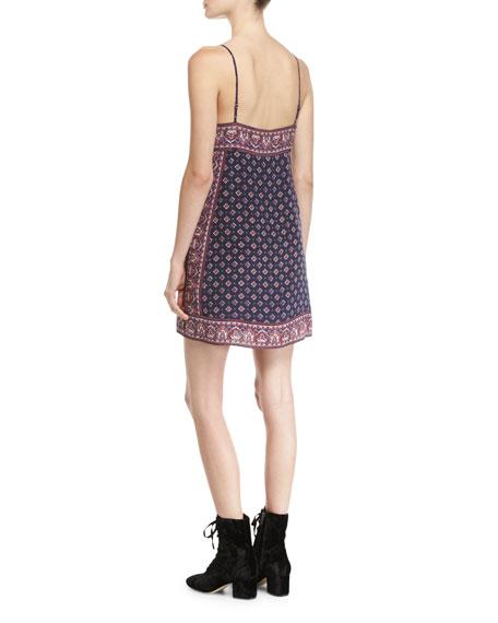 Adryel Sleeveless Printed Slip Dress