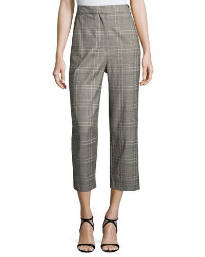 Jasper Suiting Tailored Pants, Gray Multi