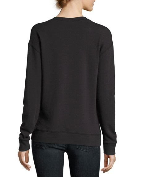 Rikke B Pullover Sweater, Black