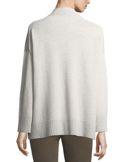 Vanise Oversized V-Neck Cashmere Sweater
