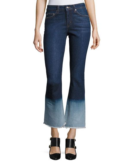 Jane Mid-Rise Flip Flop Flare Jeans
