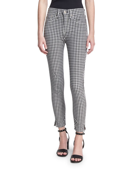 "10"" Capri Gingham Pants"