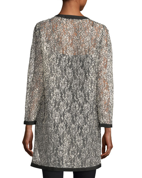 Corded Lace Topper Jacket
