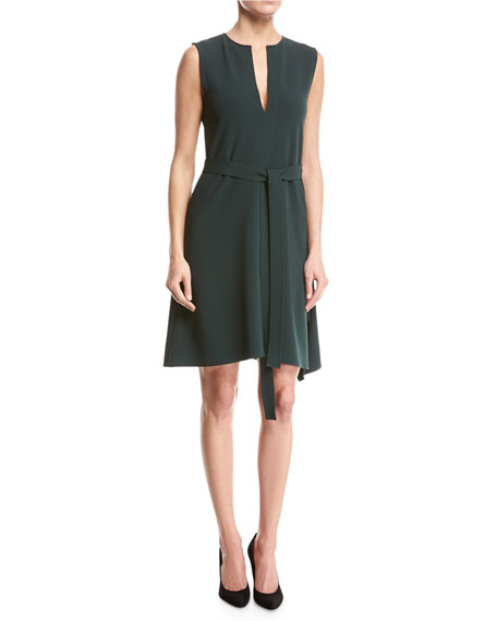 Desza Admiral Crepe Dress, Green