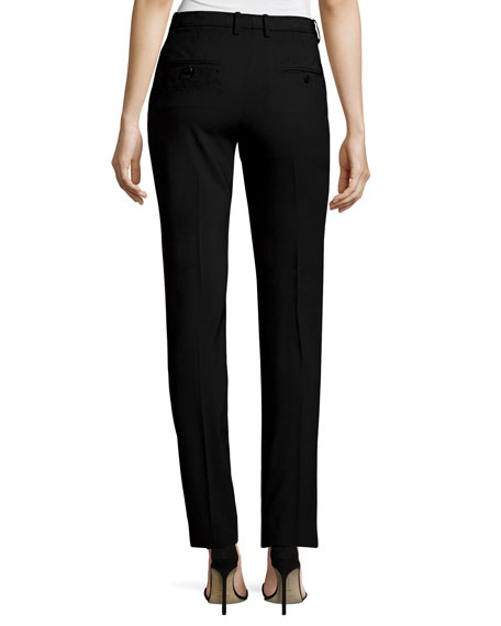 Hartsdale B New Bi-Stretch Pants, Black