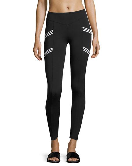 Koral Activewear Nightside High-Rise Performance Leggings, Black