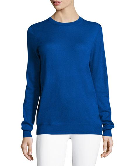 Crewneck Cashmere Pullover Sweater