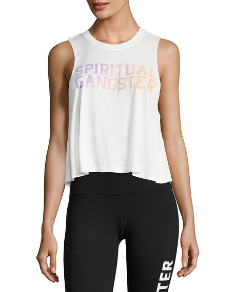 Varsity Tropical Crop Tank