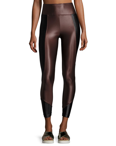 Koral Activewear Curve Mid-Rise Crop Leggings
