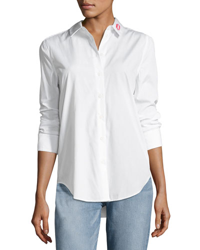 Essential Button-Down Cotton Shirt